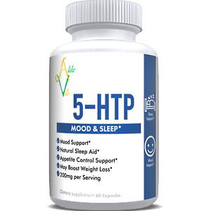 5-HTP (5-hydroxytryptophan) - 200mg per Serving