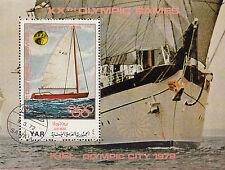 Y.A. R,/North Yemen n. BL. 170/Olympia 1972 Monaco/Kiel
