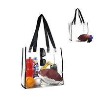 Women Clear Tote Bag Crystal PVC Handbag Tote Beach Shoulder Fashion Transparent