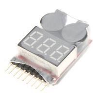 Li-ion batterie LiPo testeur Alarme basse tension Alarme Avertisseur -Rouge WT