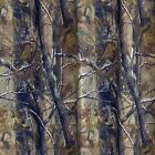 """Realtree AP HD Fabric Shower Curtain 72"""" x 72"""" All Purpose Camo Brown Taupe Gray"""