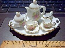 10 PIECE TEA SET - DOLL HOUSE MINIATURE