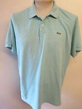 "Genuine Vintage Lacoste men's Green Polo Shirt Size Large 42-44"" Euro 52-54"