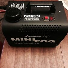 American DJ Portable Mini 400 Watt Fog Machine & Wired Remote Control 400W