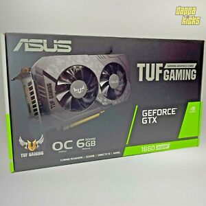 Asus NVIDIA GeForce GTX 1660 Super 6GB GDDR6 Graphics Card tufgtx1660so6ggaming