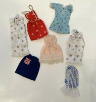 Lot  7 Pieces of Vintage Handmade Skipper Doll Clothes Assorted Barbie