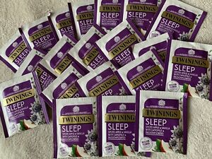 Twinings Superblends SLEEP Fruit/Herbal Tea X20 Indiv Wrapped. SEE DESCRIPTION