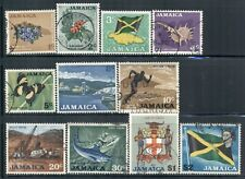 JAMAICA 306-18 SG307-19 Used 1970 Defin short set of 11 Cat$18