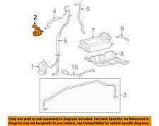 TOYOTA OEM Emission Vapor Canister-Vacuum Regulator 2586031070