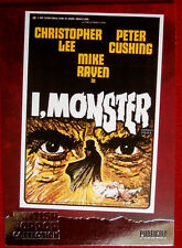 BRITISH HORROR COLLECTION - CHRISTOPHER LEE - I, MONSTER - FOIL Card F15