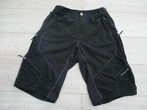 Endura Mens Hummvee Baggy Cycling Bike Shorts XL with Pockets Black