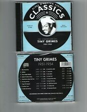 TINY GRIMES 1951-54 CLASSICS CD NEW SEALED LONG OUT OF PRINT
