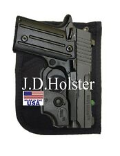CONCEALMENT GUN PISTOL POCKET HOLSTER SML AUTO 22/25/380 RUGER KEL TEC USA NEW