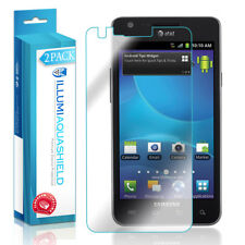 2x iLLumi AquaShield Crystal Clear Screen Protector for Samsung Galaxy S II 4G