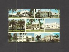 BUSINESS CARD:  KRAEER FUNERAL HOMES - 7 LOCATIONS IN SOUTHERN FLORIDA - c.1970s