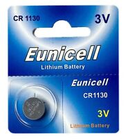 1 x CR1130 3V Lithium Knopfzelle 48 mAh ( 1 Blistercard a 1 Batterie ) Eunicell
