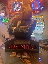 New ListingVery Rare Joe Camel Bust Marqee Sign Huge Joe Camel ! Digital Sign Works