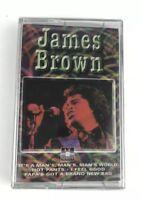 New Sealed James Brown Sex Machine Cassette I Got You Its A Mans World Desdstock
