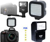 PRO FLASH + 36 LED LIGHT FOR NIKON DSLR CAMERA D3400 D5600 D80 D90 D7100  D7200