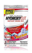 Hydroxycut Pro Clinical Instant Drink Mix Packets Wildberry 1.78 oz 21 ct