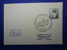 LOT 12582 TIMBRES STAMP ENVELOPPE MUSIQUE POLOGNE ANNEE 1981