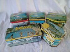More details for job lot: 5 vintage butlin's tins inc. huntley & palmer, bristows, butlinland...