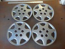 """1995 95 1996 96 Sebring Hubcap Rim Wheel Cover Hub Cap 14"""" OEM USED 515 SET 4"""