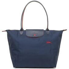 Brand New Longchamp Le Pliage Club Nylon Tote Bag Large - Navy Blue