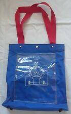 Discovery Toys Bag Blue Red Item # 7097 EUC!