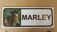 Quality Personalised Horse Stable door name plaque/sign