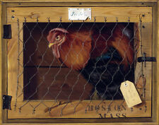 Pope Alexander Rooster In Transit Print 11 x 14 #6124