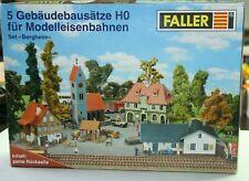 Faller H0   aus Set Bergheim , 4 Gebäudebausätze in OVP