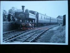PHOTO  GWR CLASS 1366 LOCO NO 1366 AT HIGHWORTH ON A RCTS SPECIAL