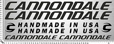 CANNONDALE Set 4   Fahrrad Rahmen Aufkleber   Bike Frame Sticker   8 Decals