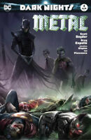 Dark Nights Metal 4 DC 2017 NM Francesco Mattina Variant Batman Who Laughs Joker