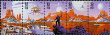 1998 32c Space Discovery, Strip of 5 Scott 3238-3241 Mint F/VF NH