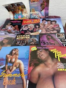 Vintage 1980s Porn Movie Advertisement 1980s Poster  Flyers (Lot Of 10) B
