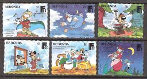 Redonda 1988 Disney Characters Kalevala MNH