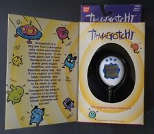 Bandai 1996-97 #1800 Tamagotchi Original Virtual Pet - NIB - White and Blue