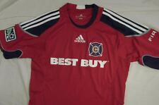 Adidas 2008 - 2010 Chicago Fire MLS Soccer Football Jersey Home Kit Shirt Sz S