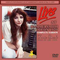 Kate Bush Live At Hammersmith Odeon 1979 Complete Version DVD 1 Disc Case Set