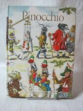 The Adventures of Pinocchio - Junior Library Book w/255 Pages