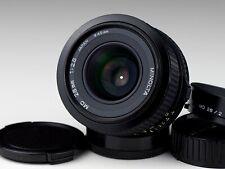 MINOLTA 2.8/28 MD mount lens BOTH CAPS LENS HOOD BARGAIN!