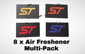 FORD FOCUS/FIESTA ST AIR FRESHENER MULTI-PACK (8 Air Fresheners 8 Scents)