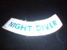 PADI Specialty Emblem - Night Diver