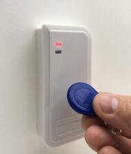 RFID-zutrittskontroll-set: exterior lectores s2-em-w, fuente de alimentación & 20 transpondedor, em/uni