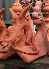 Dragon Angled Roof Ridge Tile Finials Stone Garden Ornament