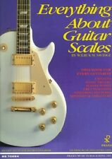 Everything About Guitar Scales, Very Good Condition Book, Savidge, Walter, ISBN