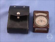 Le Matériel Téléphonique LMT  Brown Bakelite Light Meter - 9779