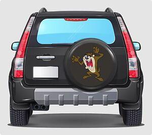 Spare Wheel Cover 4x4 Graphic Sticker TAZMANIAN DEVIL 500MM TAZ cut graphic